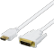 Produktbild Deltaco HDMI ha - DVI-D Single Link ha - 3m - Vit