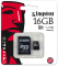 Produktbild Kingston microSDHC 16GB Class10 + SD Adapter
