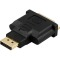 Produktbild Deltaco DisplayPort till DVI-D Single Link, 20-pin ha till 25-pin ho