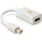 Produktbild Deltaco Mini DisplayPort till HDMI adapter, 20-pin ha - 19-pin ho, 18 cm, vit
