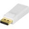 Produktbild Deltaco DisplayPort till HDMI adapter, 20-pin ha - ho, vit