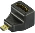 Bild 2 Deltaco HDMI High Speed with Ethernet adapter, Micro HDMI ha - HDMI ho