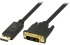 Bild 2 Deltaco DisplayPort till DVI-D Single Link monitorkabel, ha - ha, 2m