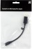Bild 3 Deltaco DisplayPort ha till Mini DisplayPort ho, 0,15m, svart