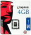 Bild 3 Kingston 4GB micro SDHC Class 4