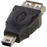 Bild 3 Deltaco USB-adapter Typ A ho - Typ Mini B ha